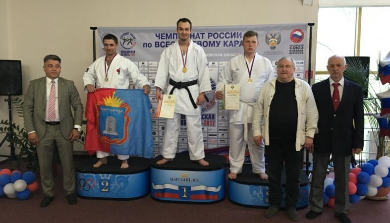 Хабаровчанин стал чемпионом Российской Федерации повсестилевому каратэ