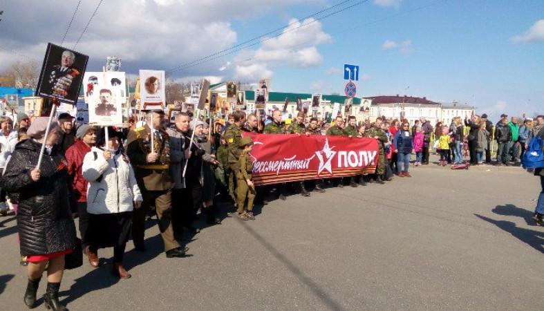 Около 8 млн граждан России участвовали вакции «Бессмертный полк»