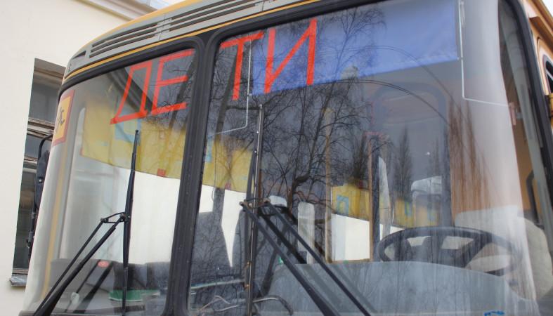 21 ученический автобус поступил вКарелию