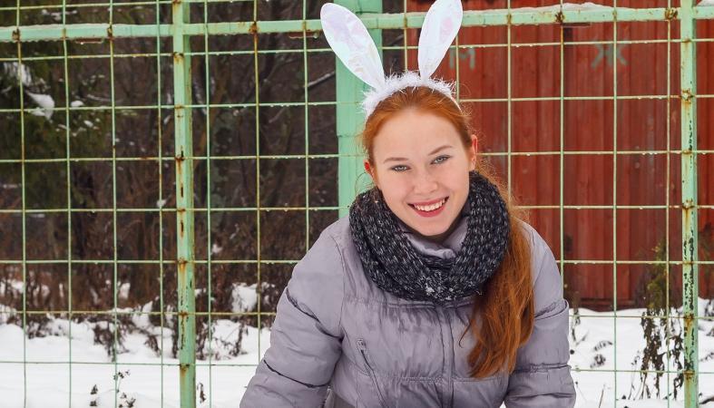 "Снег и ветер не помешали спортивному празднику финалисток ""Мисс Петрозаводск-2015"