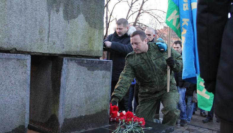 Фото: Павших в Чечне карельских солдат помянули в Петрозаводске