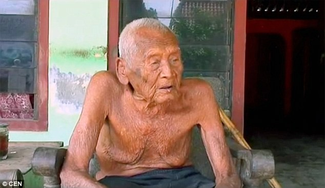 145-летнему индонезийцу может достаться титул самого старого человека на планете