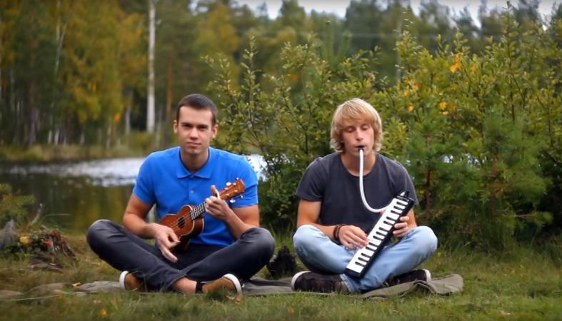 Музыкальная пауза: ребята из Карелии делятся теплом