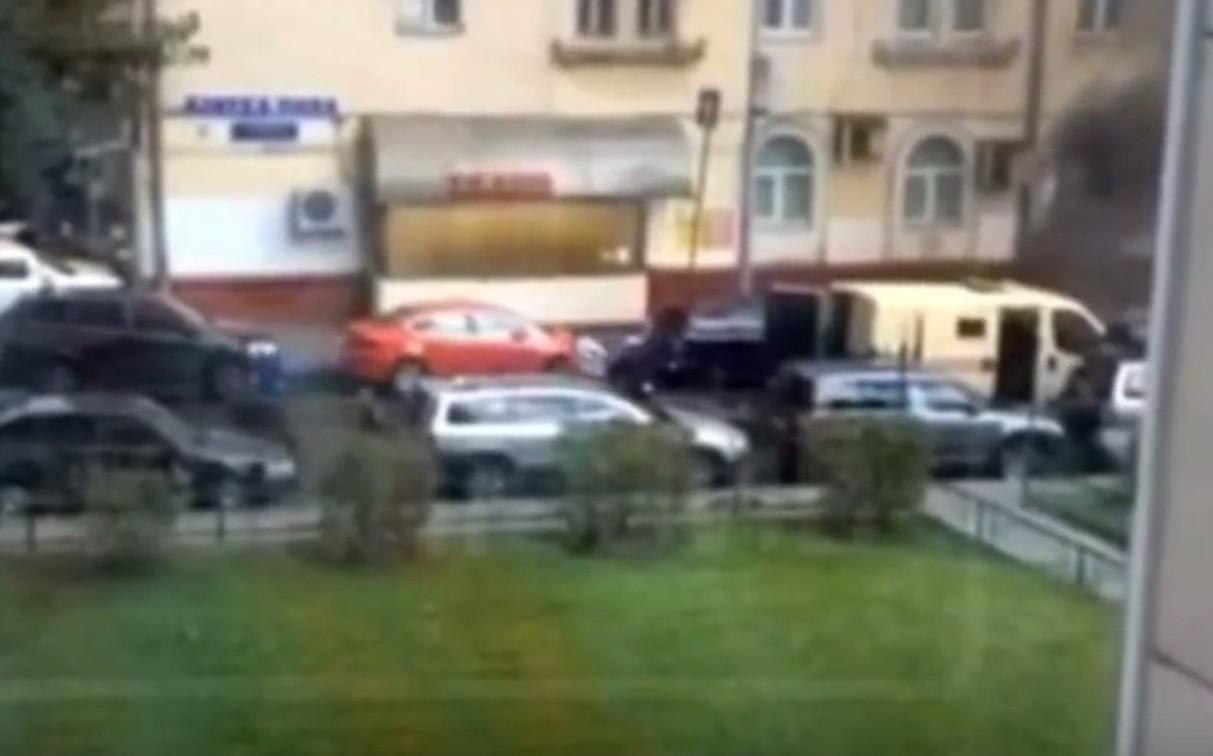 В столицеРФ совершено вооруженное нападение наинкассаторов