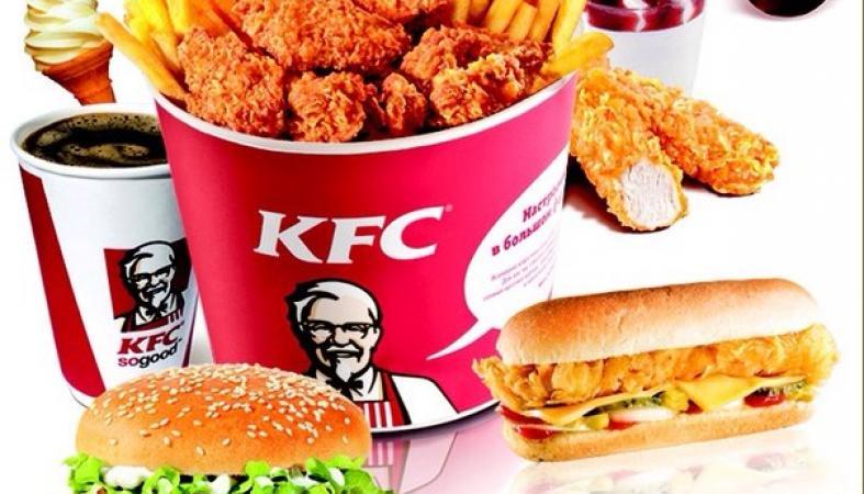 Китайские компании распространяют слух, что у куриц KFC 8 ног