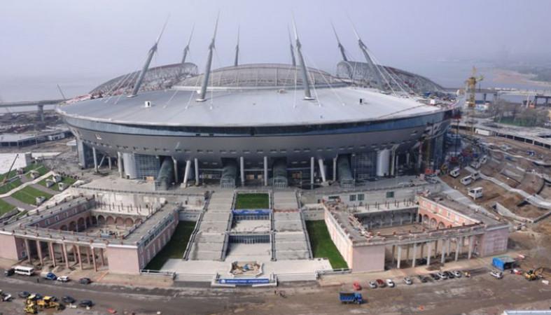 Стадион наКрестовском острове вышел нафинишную прямую