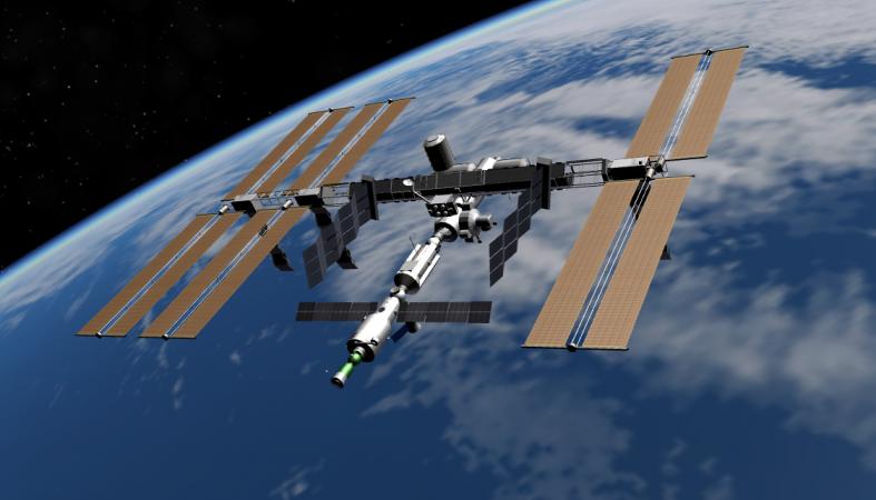 Петербуржцы смогут наблюдать полет МКС невооруженным глазом