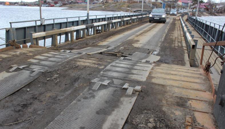 300-метровый мост посоветовали построить наместе Соломенского понтона
