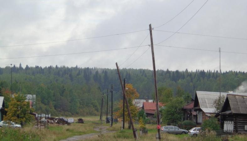 Жители поселка в Карелии боятся, что бесхозные электросети приведут к беде