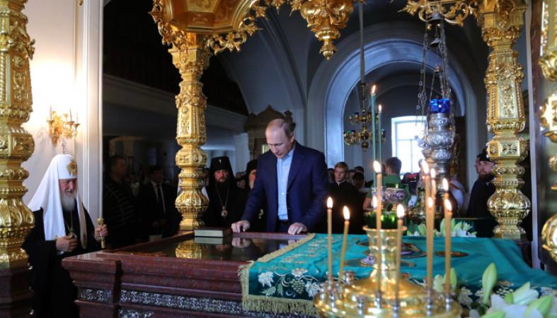 Путин объявил осоздании новейшей религии, назвав Ленина святым
