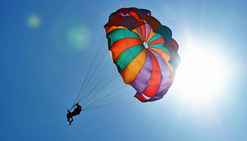 Прыжок с парашютом 1