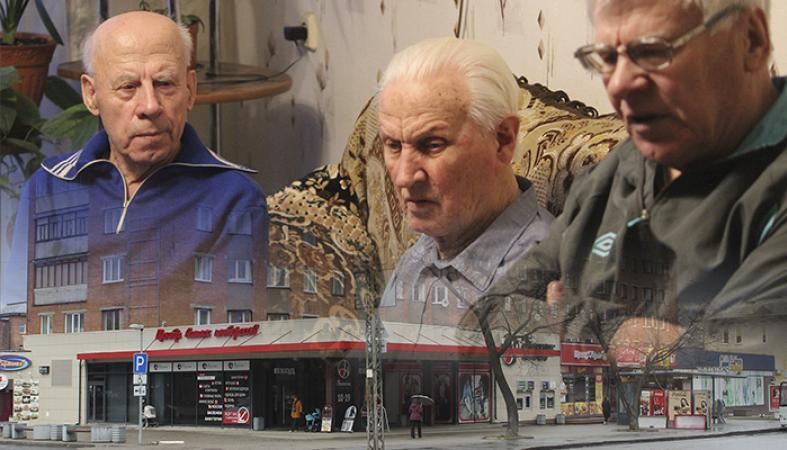 """Голодающим из-за """"Невского пассажа"""" ветеранам потребовалась медицинская помощь"""