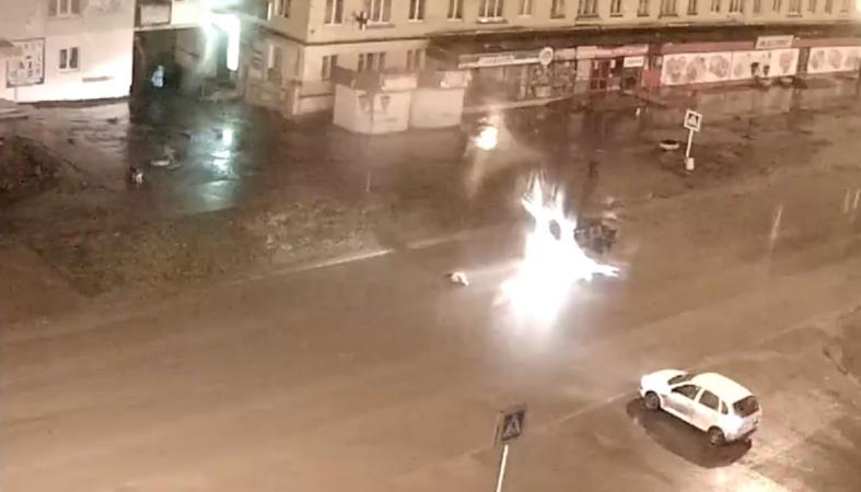 Срочно: Пешехода сбили на переходе в Кондопоге (видео)