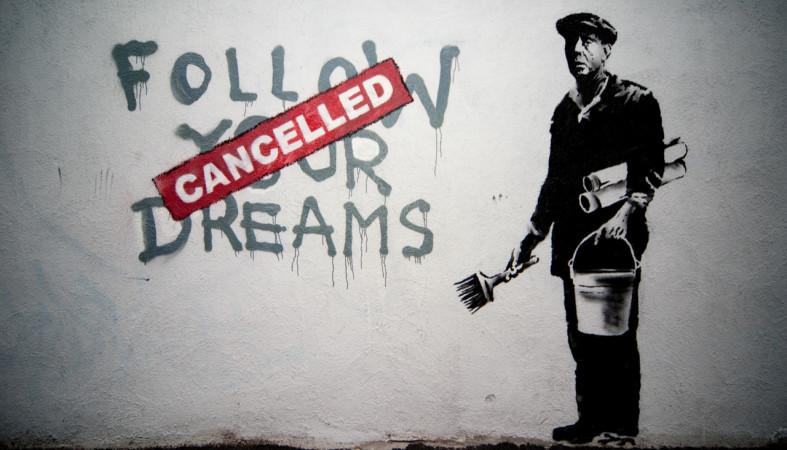 Кконцу осени вПетербурге откроется выставка работ уличного художника Бэнкси