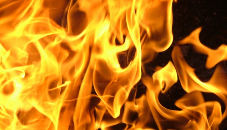 1.5 часа тушили пожар вжилом доме вПетрозаводске