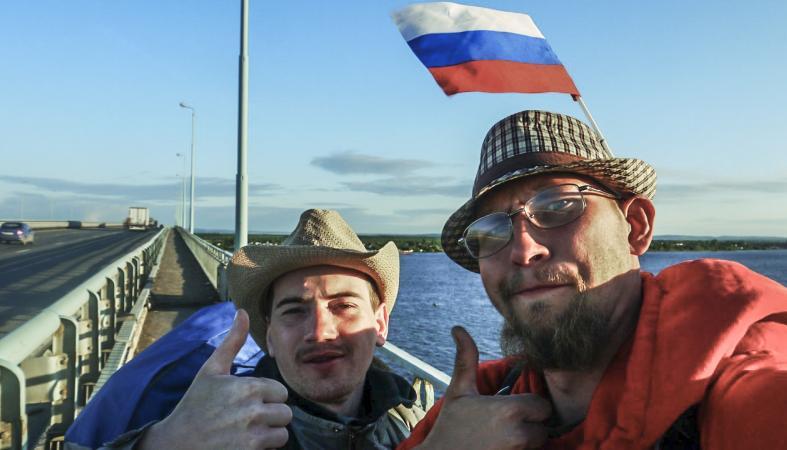 Петрозаводчане, отправившиеся без денег вокруг света, планируют новое путешествие
