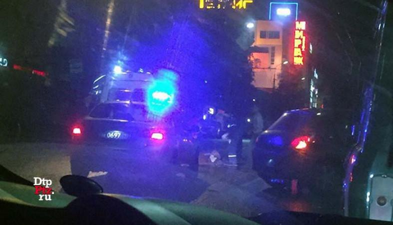 ВПетрозаводске иностранная машина на«зебре» насмерть сбила пешехода