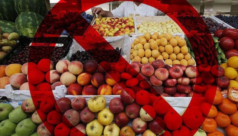 В РФ могут начать облагать штрафом за транспортировку ихранение санкционных продуктов