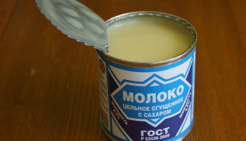 Роскачество: треть продаваемого в Российской Федерации сгущенного молока является подделкой