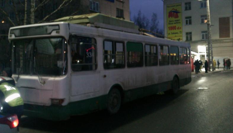 4-летний ребенок пострадал вДТП строллейбусом вПетрозаводске
