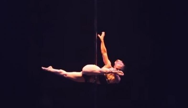 Танцовщица на шесте из Финляндии шокировала жюри Чемпионата мира: видео