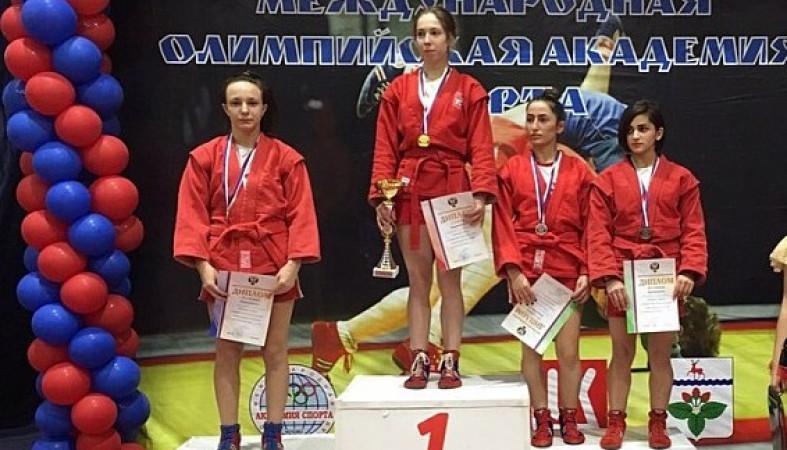 Владимирская самбистка выиграла первенство Российской Федерации