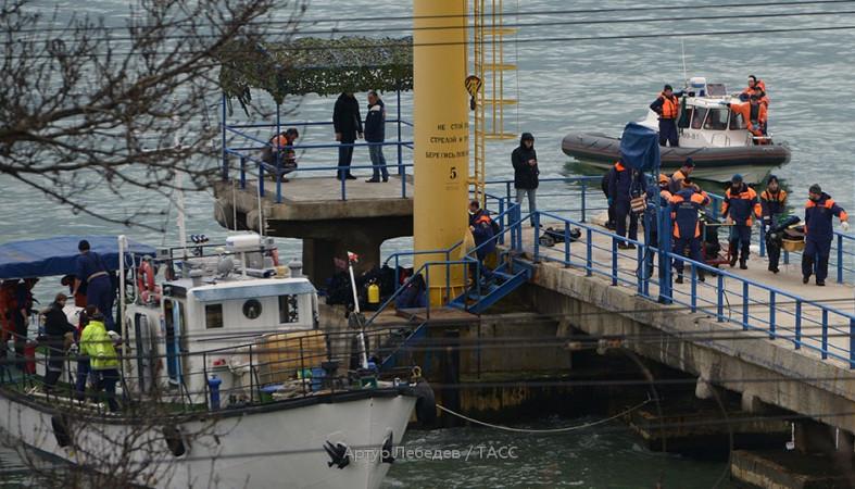 Признаков теракта вразбившемся Ту-154 пока не найдено — ФСБ