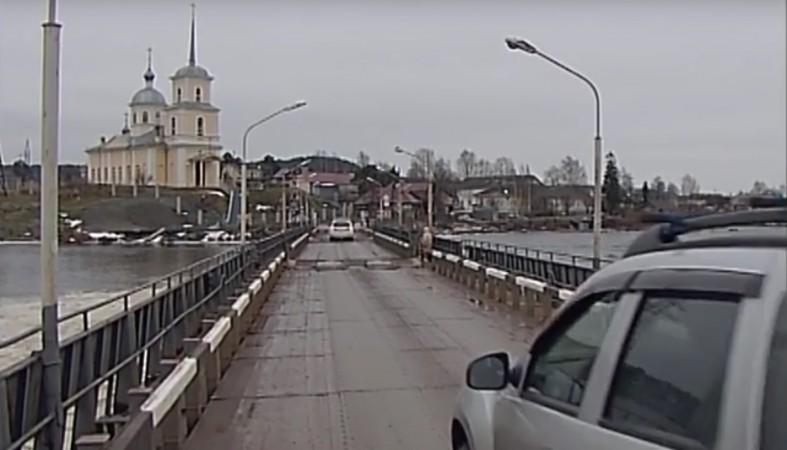 Аукцион настроительство наплавного моста вПетрозаводске никого незаинтересовал