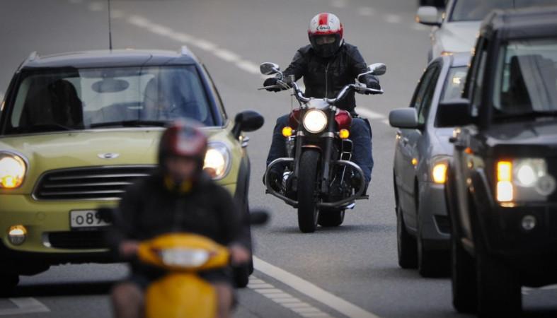 В государственной думе  поддержали предложение поизменению ПДД для удобства мотоциклистов