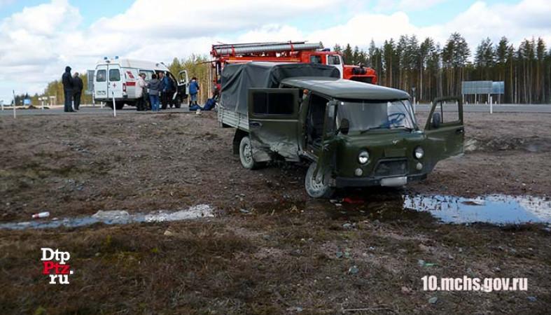 ВКарелии вДТП пострадали три человека