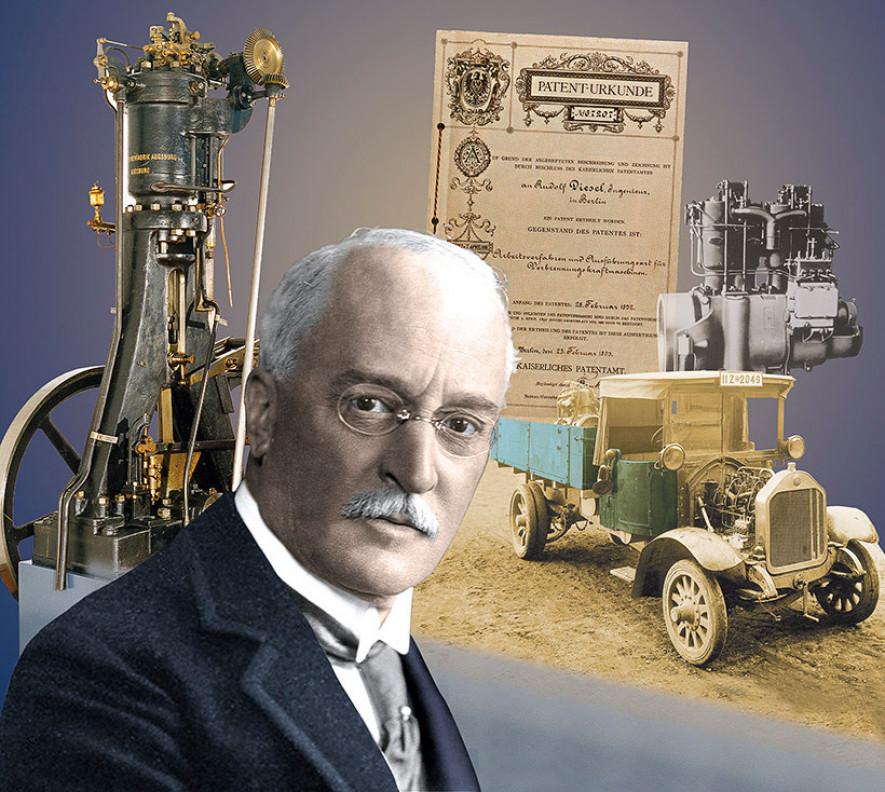 Картинки по запросу 1897 - Получен первый пригодный для серийного производства дизельный двигатель.
