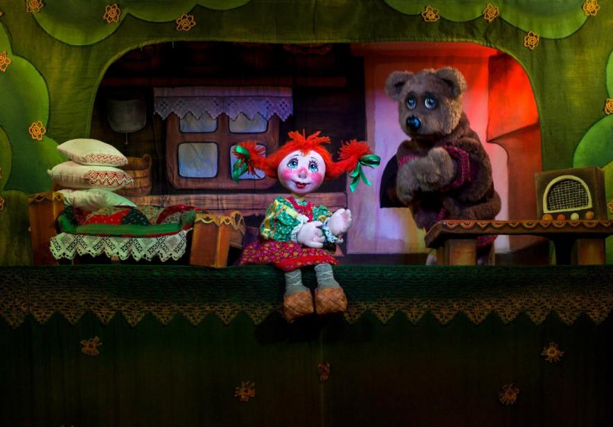 Театр кукол маша и медведь тюмень афиша
